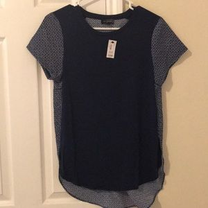 Limited top navy blue NWT S